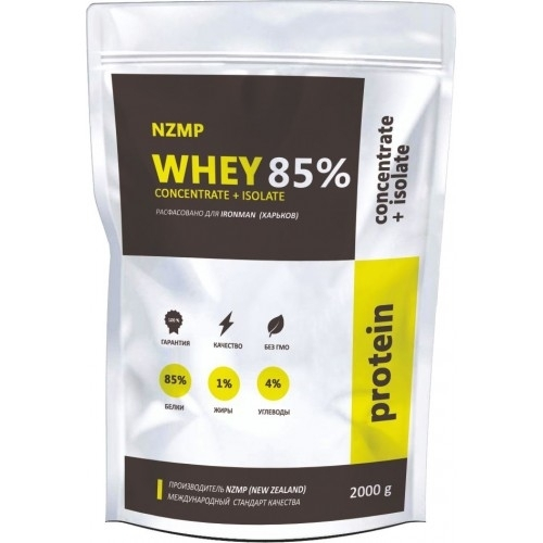 Whey 85% Protein Concentrate + Isolate (2000 Г)