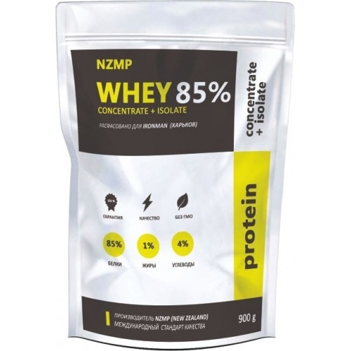 Whey 85% Protein Concentrate + Isolate (900 Г)